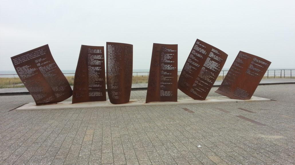 Monument voor omgekomen zeelieden, Katwijk